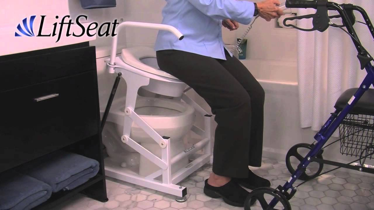 Lift Assist Chair Lift Seat Powered Toilet Lifts For Home Hospital And Bariatric Patients