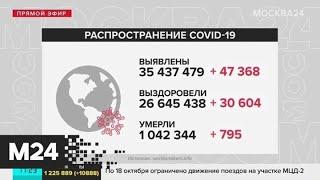 Москва 24 рассказала о ситуации с коронавирусом в РФ и мире - Москва 24