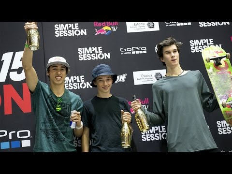 Simple Session 15 SKATE FINALS LIVE REPLAY