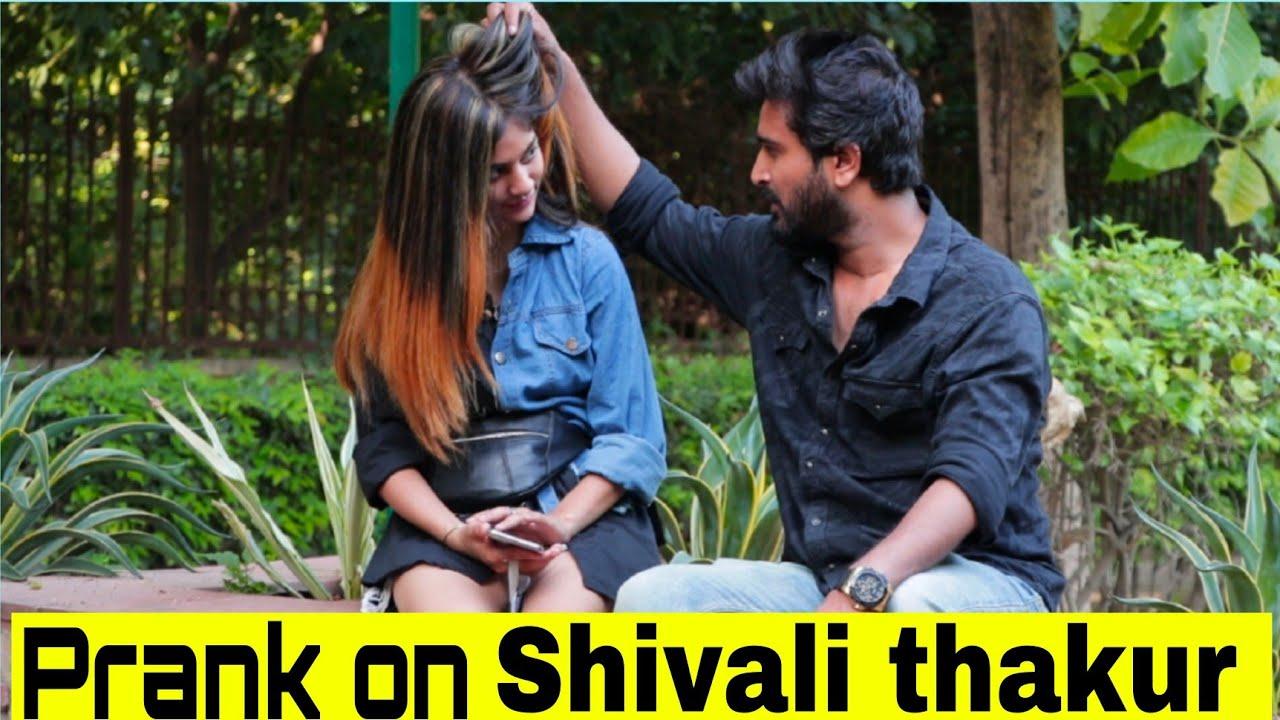 Prank On @Shivali Thakur | Yash Choudhary