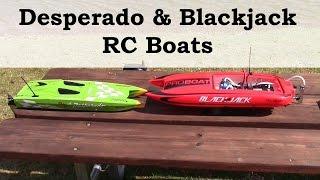 RC Boats Review, Pro Boat Blackjack 24, Ace RC Desperado Jr. OBL and Explorer Pro 200