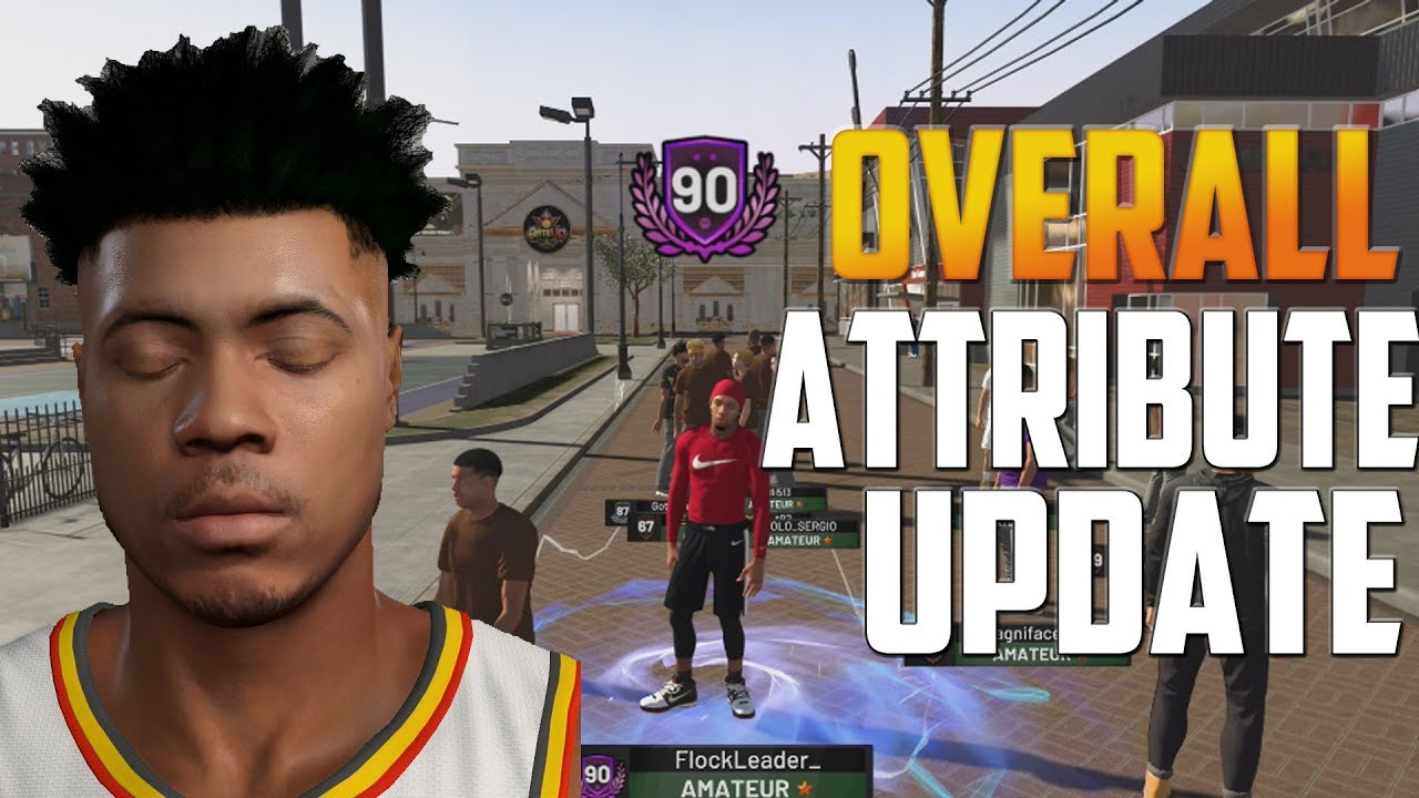 NBA 2K19 - 90 Overall Attribute and Animation Update