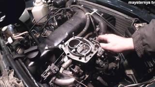видео Установка карбюратора солекс 21083 на ВАЗ 2107