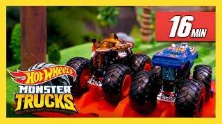 ЛУЧШИЕ испытания Monster Trucks! | Monster Trucks | @Hot Wheels Россия 3
