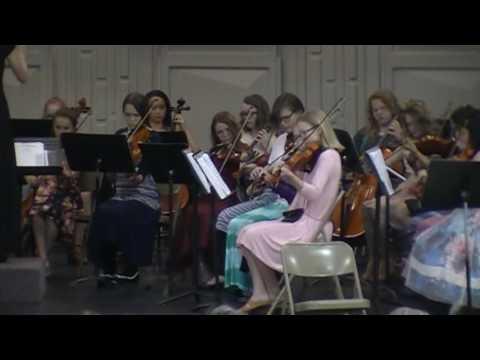 North Ogden Junior High Orchestra - Brandenburg Concerto  No. 3
