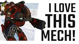 I love this Mech! Medium Pulse Laser Marauder IIC - Mechwarrior Online The Daily Dose #1022