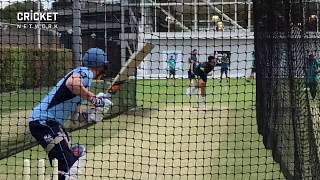 Steve Smith faces Aussie Test quicks in nets