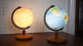 FUN GLOBE「タッチライトスケール地球儀」アンティーク…