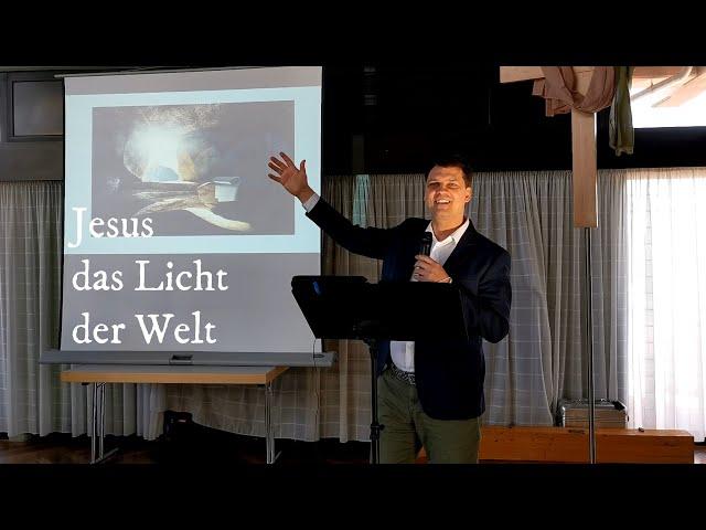 Jesus das Licht der Welt: Predigt - Meditation Jesus Licht der Welt