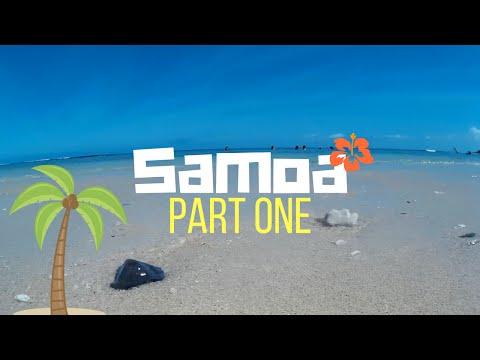 Samoa Vlog pt. 1 | Tianna and Lauren