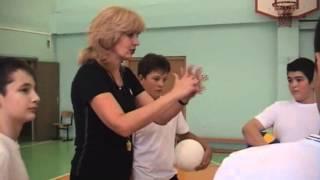 Технические приемы игры в волейбол