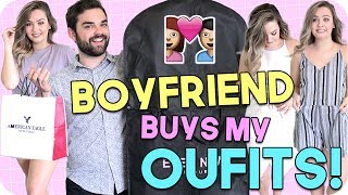 Boyfriend Buys My Outfits! Shopping Challenge 2017!