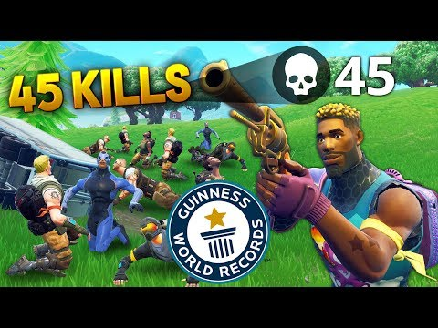 45 Kills World Record In 10s Fortnite Funny And Best Moments