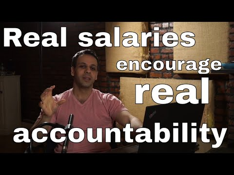 The importance of business owners paying themselves a real salary