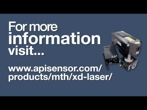 Measuring All 6 Degrees Of Freedom - XD Laser By Automated Precision Inc.