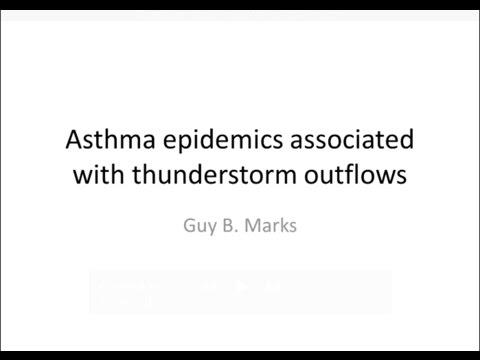 Thunderstorm Asthma Prof. Guy Marks 02.12.2016