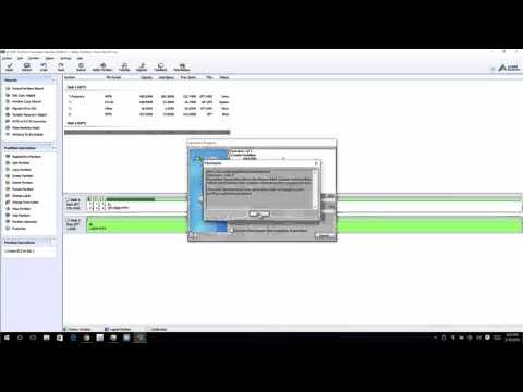 AOMEI Partition Assistant - Windows Disk Manager failed to allow RAID drive re-use, here's the fix!