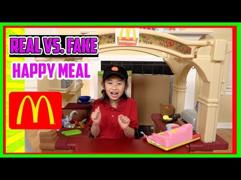 Pretend Play Mcdonalds Drive Thru with Ryan's Toy Review inspired-I MAILED MYSELF to Ryan ToysReview