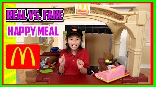 Pretend Play Mcdonalds Drive Thru with Ryans Toy Review inspired-I MAILED MYSELF to Ryan ToysReview