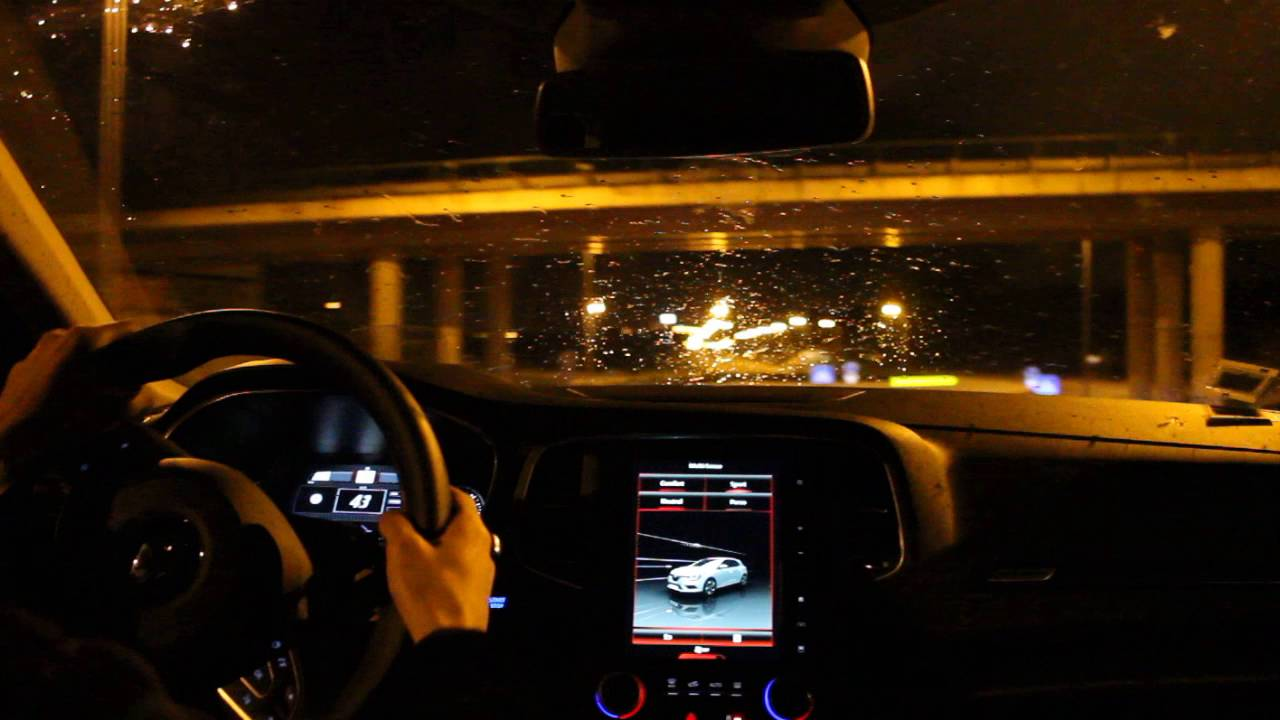 2016 renault megane gt 205 night pov youtube for Hv interieur heist