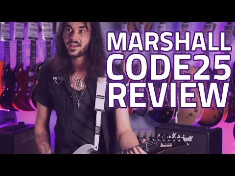 Marshall CODE25 Combo Amplifier Review - A Modelling Amp Ideal For Gigging