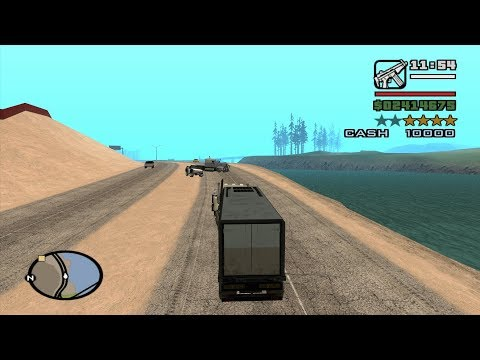 Chain Game 100 mod - GTA San Andreas - Trucking Mission 8