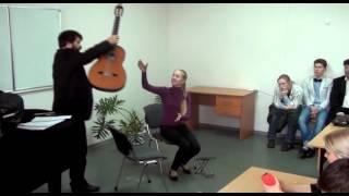 Открытый урок Е.Ю. Финкельштейна + Встреча с гитарным мастером М. Федченко (СПБ)