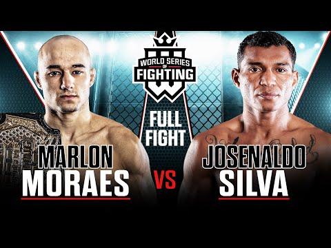 #WSOFNYC's Marlon Moraes vs. Josenaldo Silva Bantamweight Title Fight