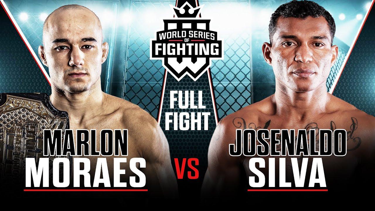 Full fight   Marlon Moraes vs. Josenaldo Silva (Bantamweight Title Fight)   WSOF 34, 2016