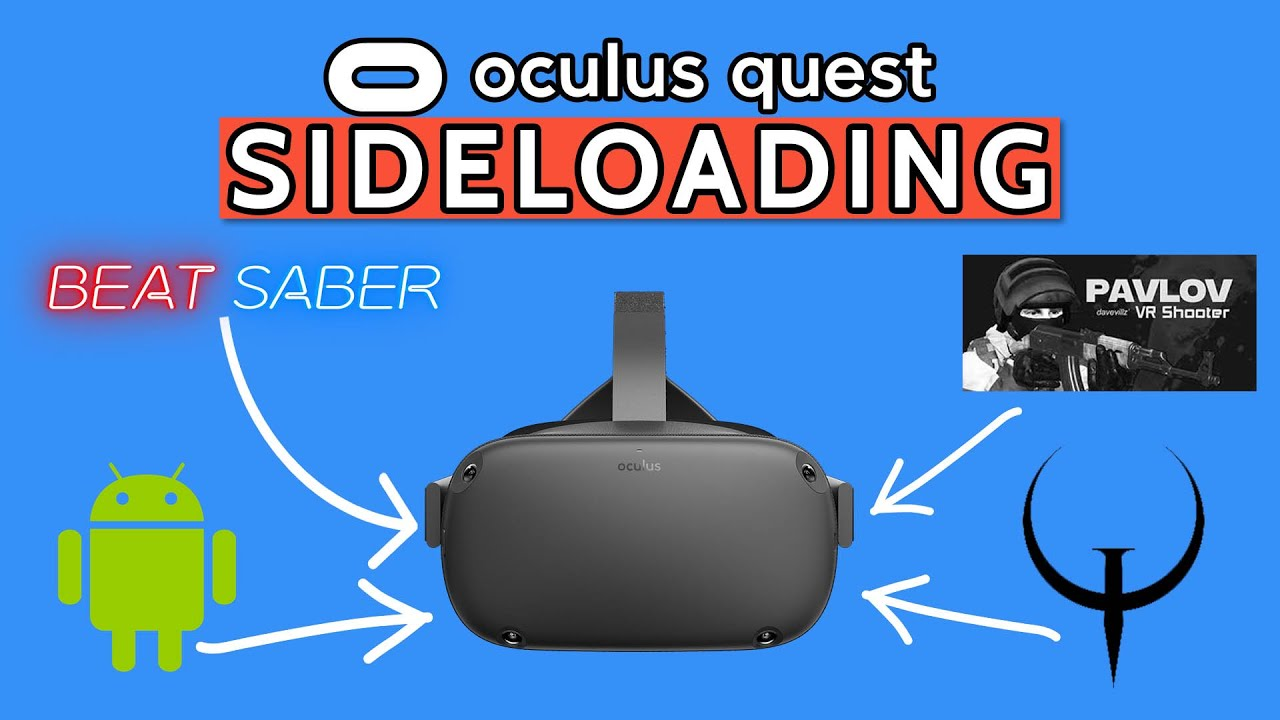 Sideload Oculus Quest - EASY and SIMPLE With SideQuest