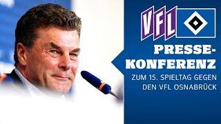 RELIVE: Die Pressekonferenz vor dem Auswärtsspiel beim VfL Osnabrück