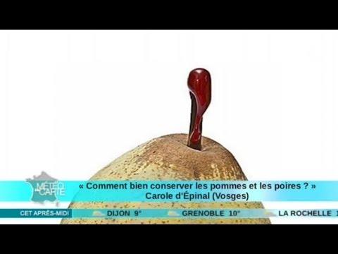 Comment conserver les pommes et les poires youtube - Conserver pommes coupees ...
