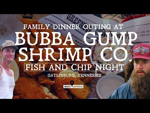Bubba Gump Shrimp Gatlinburg Tennessee