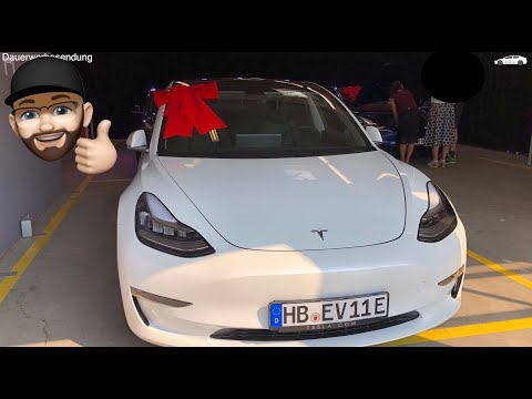 4K | Tesla Model 3 - Übergabe Hamburg - Top Zustand  - Delivery in Hamburg