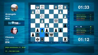 Chess Game Analysis: Arcangelo - Chrsnhz : 0-1 (By ChessFriends.com)