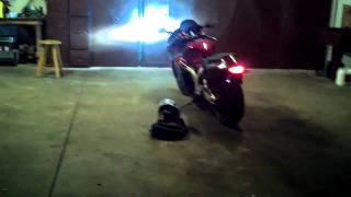 "Street Bike Sounds 2"" speakers on a 2006 hayabusa motorcycle (sound system) HD!"