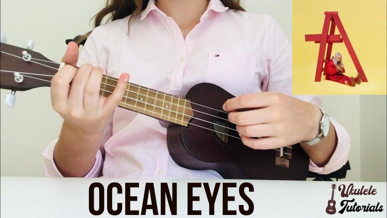 Billie Eilish - Ocean Eyes (EASY Ukulele Tutorial)