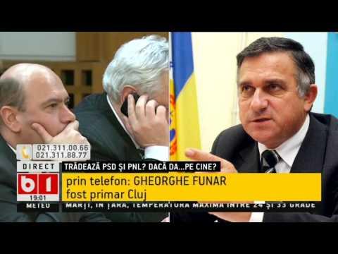 Gheorghe Funar: Conducerea PSD și UDMR acționează pentru dezmembrarea României