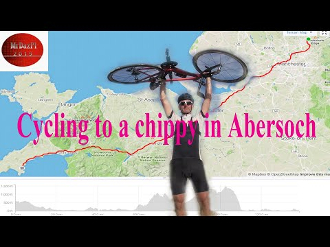 Cycling 150 Miles To A Fish & Chip Shop In North Wales