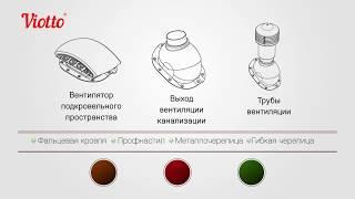 Кровельная вентиляция Viotto – создана для России. Обзор продукции с завода