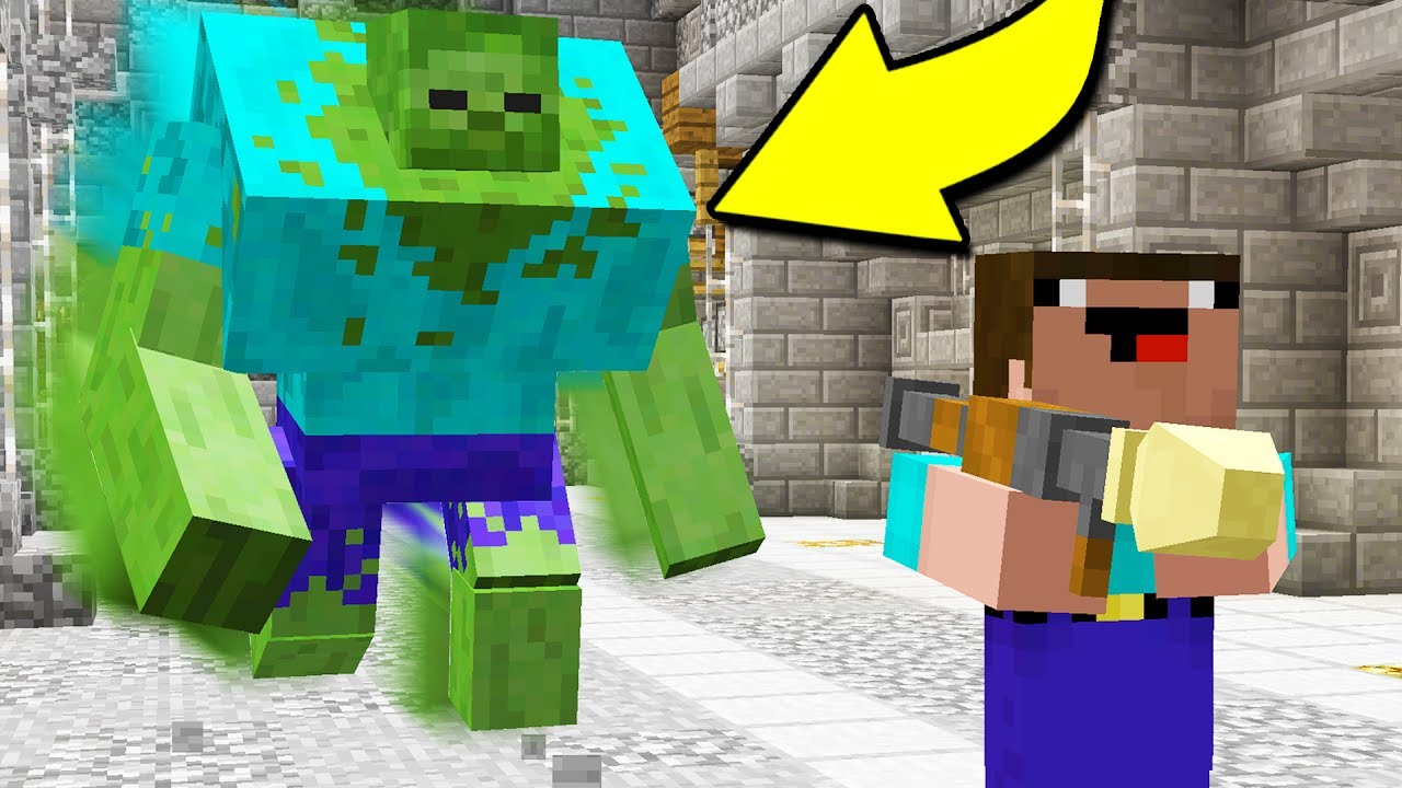 RUN FOR YOUR LIFE!! (Minecraft ZOMBIE Apocalypse)