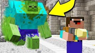 RUN FOR YOUR LIFE!! (Minecraft ZOMBIE Apocalypse)