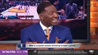 BREAKING: NBA SEASON HAS BEEN SUSPENDED!   NBA GameTime LIVE Reactions