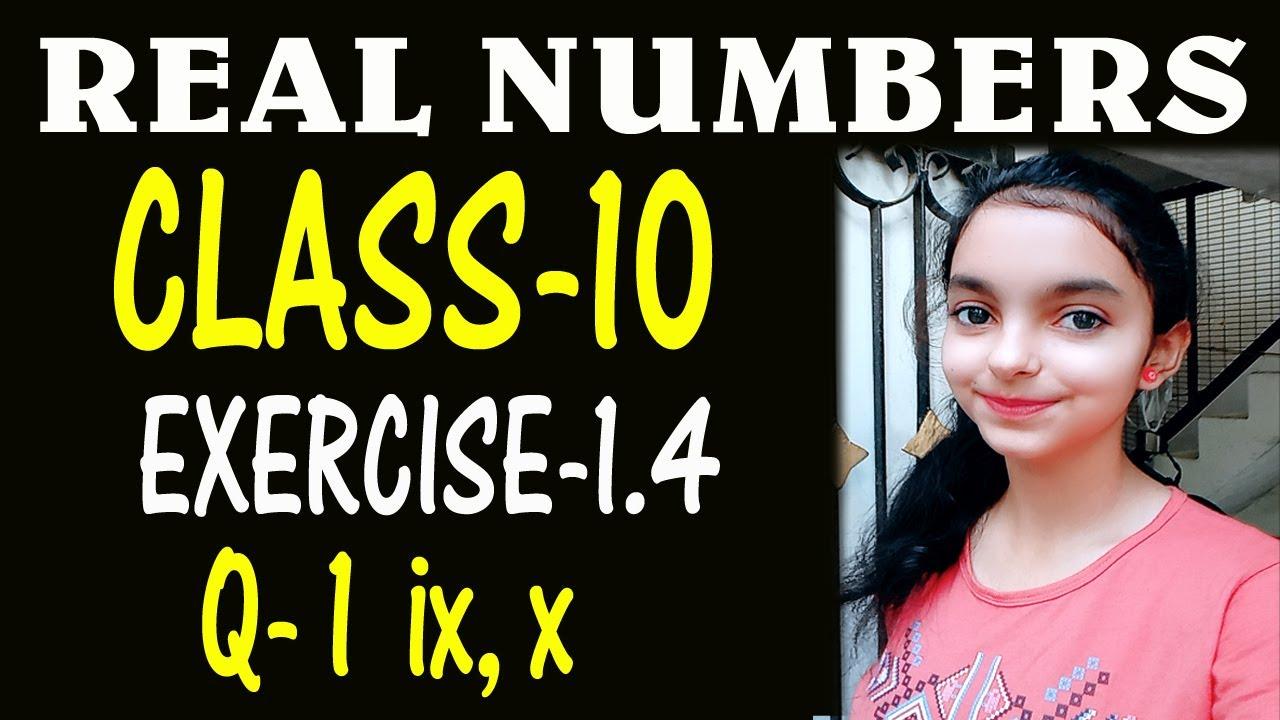 REAL NUMBERS PART 16| CBSE CLASS 10 MATHS| CHAPTER 1| Ex 1 4 |NCERT|