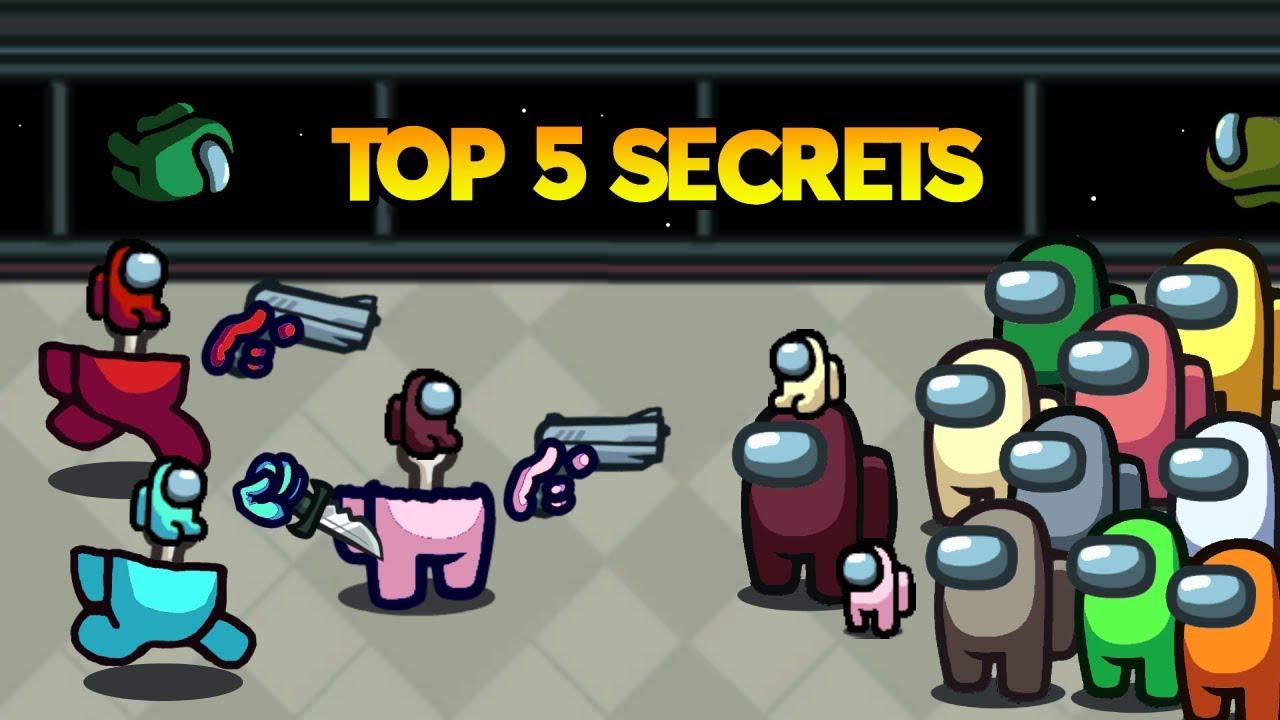 TOP 5 SECRET ROOMS in Among Us