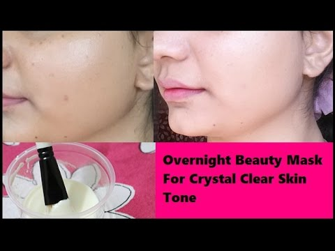 how to have clear skin overnight