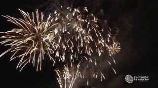 Wedding Fireworks at Blenheim Palace
