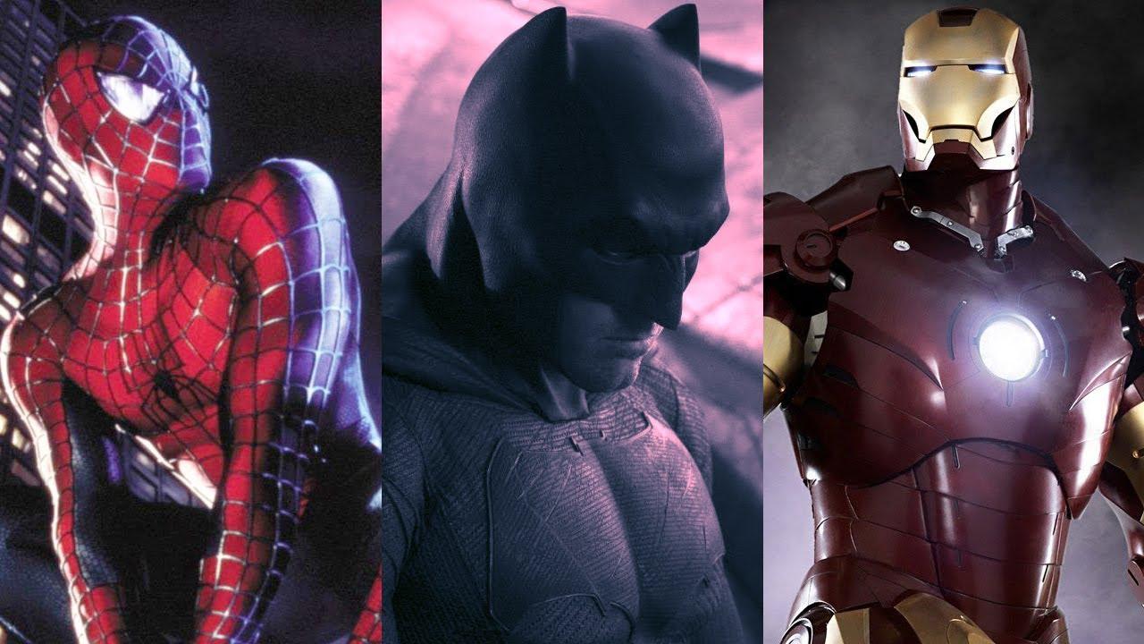 & 7 Best Superhero Costume Reveals - YouTube