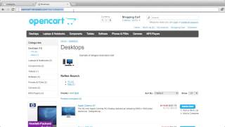 OpenCart Lesson 6: Creating Categories