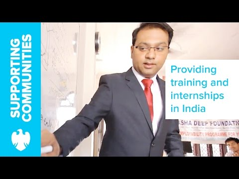 Providing employment skills to underprivileged youth in India | Barclays